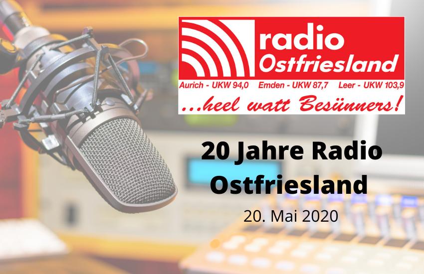 Radio Ostfriesland feiert 20. Geburtstag